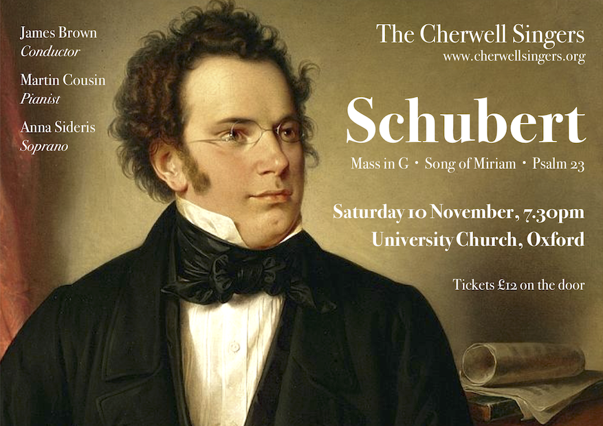 The Cherwell Singers perform Schubert